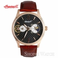 Ingersoll IN7100RBK New Orleans Brown Leather Strap Watch