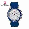 Swiss Mountaineer Blue ChronoSport Watch