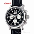 Ingersoll IN1206BK Filmore Mens Black Automatic Leather Watch