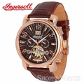 Ingersoll IN1806RBR Santee Mens Brown Leather Strap Watch