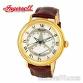 Ingersoll IN2601GWH Mens Automatic Leather Watch