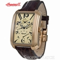 Ingersoll IN2602RCR Missouri Dark Brown Leather Strap Watch