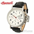Ingersoll IN2801WH Mens Automatic Leather Watch