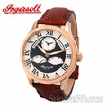 Ingersoll IN3800RG Mens Automatic Leather Watch