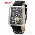 Ingersoll IN8202BK Laramie Mens Black Leather Strap Watch