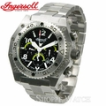 Ingersoll IN1614BKMB Bison No. 17 Mens Black Dial Bracelet Watch