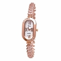 Riana RCW0018 Womens Rose Gold Crystal Bling Watch