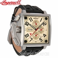 Ingersoll IN1613CR Bison No. 11 Cream Dial Automatic Leather Watch