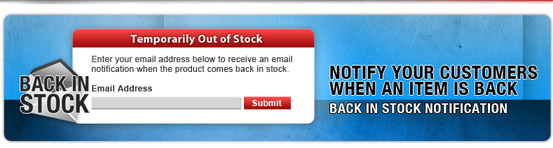 Notify Customer When Product Is Back In Stock