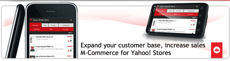 Mobile Commerce for Yahoo! Stores