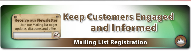 Mailing List Registration