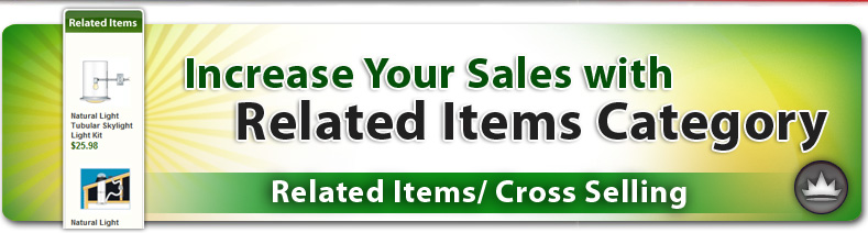 Related Items / Cross-Selling