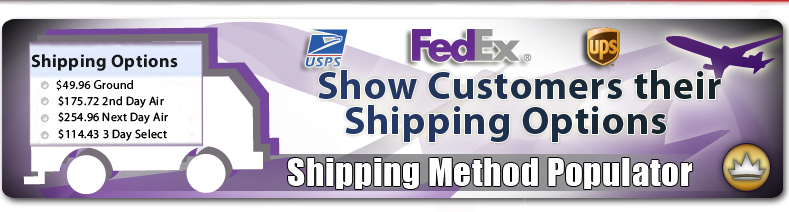 Shipping Method Populator