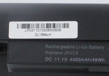 New GHU 6 Cell battery 56 Wh 5200 mAh for Dell JKVC5 Laptop Battery