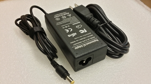65W Acer Laptop Power Adapter with 3-Prong Acer Aspire 5100 Charger Cord