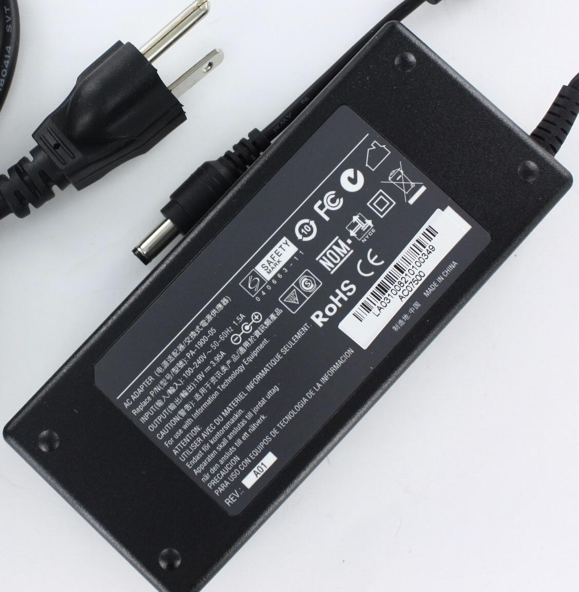 Global Toshiba Satellite M60 75W AC Adapter PA3032U-1ACA PA3432U-1ACA