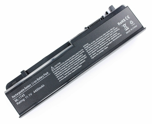 New GHU 4400 mAh Battery 312-0186 N855P U164P for Dell Studio 17, 1745, 1747 and 1749