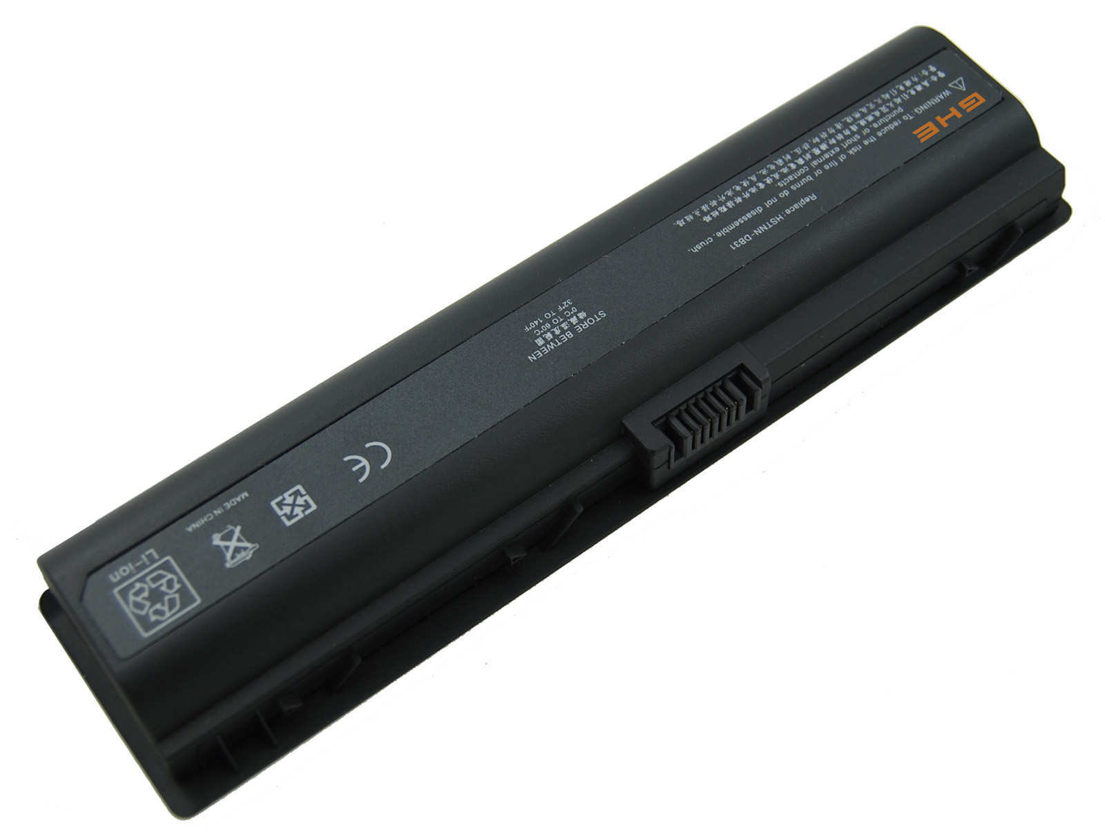 New GHU Battery For HP Notebook DV2000 DV6000 - Lithium ion 6-cell - 4400 mAh