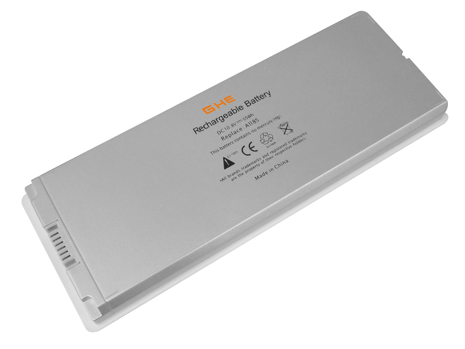 "6 Cell Laptop Battery for Apple MacBook 13"" 13.3"" A1181 A1185 MA561 MA566 White"
