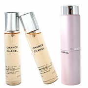 (Chanel) CHANCE EDT Twist and Spray 2.0oz (Refillable) (W)