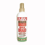 African Royale BRX Braid & Extentions Sheen Spray 12oz