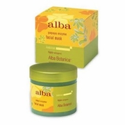 Alba Botanica Papaya Enzyme Facial Mask 3oz