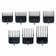 Andis Clipper Attach Comb 7pcs Set #01380 (for MBA, ML, SM)