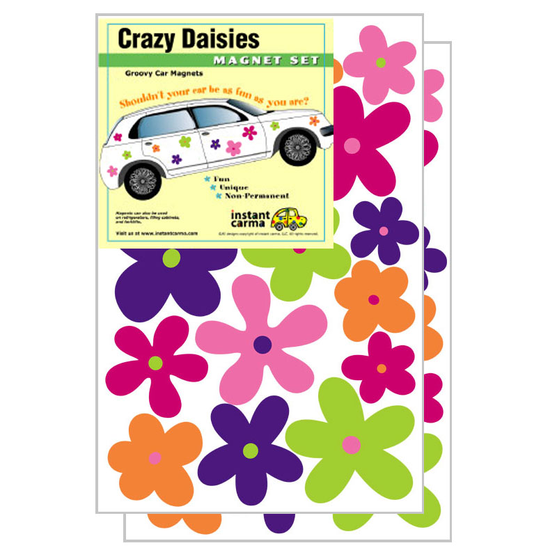 Magnets For Cars Decoration Iron Blog - Magnetic car decals flowers