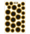 Game Day Dot Magnets - Black & Gold