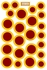 Game Day Dot Magnets - Maroon & Gold