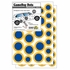 Game Day Dot Magnets - Blue & Yellow