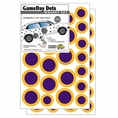 Game Day Dot Magnets - Purple & Gold