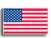 US Flag Decal - 8 X 10 inch