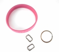 LoopKit 10-pack Accessory Kit Key Chain for Rubber Wristbands