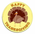 Happy Thanksgiving Car Magnet