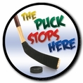 Ice Hockey Car Magnet