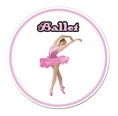 Ballet Car Magnet