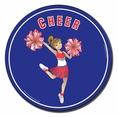 Cheer Car Magnet