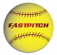 Fastpitch Softball Car Magnet