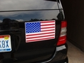 "American Flag Car Magnet - 6.5"" x 12"""