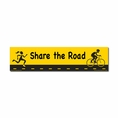 """Share The Road"" Biking Car Magnet"