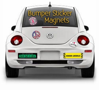 Custom Car Magnet Bumper Stickers Custom Vinyl Decals - Custom car bumper stickers