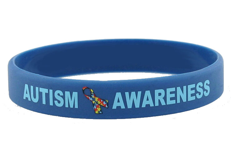 Autism Awareness Rubber Bracelets Magnets T Shirts Necklace