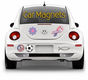 Car Magnets Bumper Sticker Magnet European Oval Magnets - Custom car magnets decals