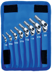 Hex-Pro SAE Hex Set (8 Piece)