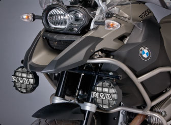 Light Bar by TechMount / PIAA for BMW R1200GS or R1200GSA without OEM fog lights