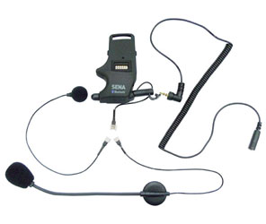 SENA Helmet Clamp Kit - For Earbuds with Attachable Boom Microphone & Wired Microphone Part # SMH-A0304