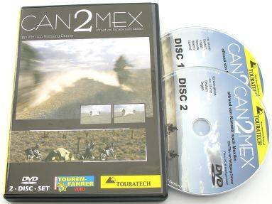 Canada Border to Mexico Border Tour (Can2Mex) DVD - NTSC version for North America