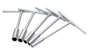 Mini-Pro T-Handle Set Metric 8,10,12,13,14mm by Motion Pro