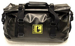 Expedition Dry Duffel Bag by Wolfman Luggage- Size Medium Black or Yellow. Made in USA with Lifetime Warranty